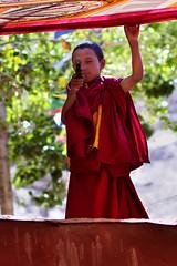 Free Tibet - Baby Monk at Takthok Monastery (Santini Roberto) Tags: boy portrait baby india canon child monastery 7d kashmir ritratto ladakh jammu monastero bambino ef85mmf18usm thagthog flickraward takthok takthokmonastery thakthak