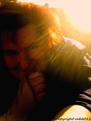 folder12 02countingon sunbeams.. (...☼ƸӜƷjustbryondthelrnsrecoverin from a stro) Tags: sunset photography hp photosmart sunbeams selfportraitwoman sunbeamssunevening