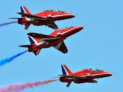 Hawk T1A XX322 Red Arrows RAF. (jezdgould) Tags: hawk bae redarrows raf rafwaddington royalairforce t1a xx322