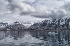 Nordenskjld (marko.erman) Tags: sky mountains cold ice beautiful norway clouds landscape calm glacier svalbard serene nordic polar icy spitzbergen nordenskjld