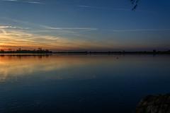 transition (stevefge (away travelling)) Tags: sunset sky water netherlands reflections sundown nederland weurt grindgat nederlandvandaag reflectyourworld