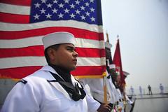 160506-N-YL053-077 (Commander, U.S. 7th Fleet) Tags: china shanghai admiral usnavy underway flagship 7thfleet lcc19 ussblueridge