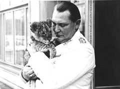 Hermann Gring with his favorite pet, Mucki (the second cub was named Csar). When they got to big he donated the lions to the Berlin Zoo. Gring owned a private zoo with several other animals. (1936) [500x368] #HistoryPorn #history #retro http://ift.tt/2 (Histolines) Tags: favorite pet berlin history animals 1936 private zoo was cub other big with retro several owned when lions his second timeline got they he named hermann donated the mucki gring vinatage csar historyporn histolines 500x368 httpifttt255je1z