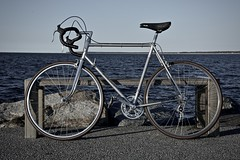 retro 1968 Mathias Stollenwerk (Aachen) racing bicycle III (Jualbo) Tags: sea bike bicycle vintage warnemnde steel ace super baltic racing retro aachen record oldtimer 1968 mathias ostsee fahrrad rostock dura shimano campagnolo rennrad nuovo 2016 stollenwerk
