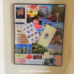 (davids_studio) Tags: travel collage hongkong photo tour toothpicks postcards southkorea