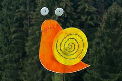 """Glasschnecke - 160505 - 1080850 (""""Besenbinder"""") Tags: deutschland snail caracol cargol escargot schnecke gusano chiocciola limace besenbinder dmcfz200 europe geotagged mapeurope mapgermany lumix outdoor germany bayern bavaria bayerischerwald bhmerwald kunst art arte lamerwinkel"""