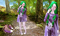 Look At Your Heart. Follow Nature (Little Kawaii SL) Tags: life cute monalisa kawaii calico second lc florest clothings maitreya somemore
