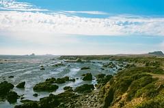 45530006 (danimyths) Tags: ocean california film beach water coast waterfront pacific roadtrip pch pacificocean westcoast pacificcoastalhighway filmphotography
