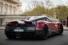 Tempest Dear. (A.Doughty Photography Automotive Photographer) Tags: city uk red england storm london cars car italian wind turbo package pallmall amg supercars v12 tempesta pagani huayra