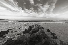 Mar Cantbrico en Gijn (CarlosConde/Photography) Tags: marina angle gijn sony 14 wide asturias 28 angular roca cantbrico samyang ilce7m2