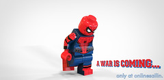 A Civil Spider (Silent Shane) Tags: america war lego spiderman civil captain superheroes custom marvel