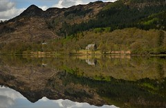 Time for reflection. (richbriggs28. Love being a grandad :)) Tags: park church national loch lomond trossachs the achray richbriggs28
