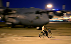 I want to ride my bicycle, I want to ride my bike...(an ode to Freddie!!) (Jaws300) Tags: bicycle japan night airport ramp force unitedstates martin pacific aircraft air united transport tan ground son apron vietnam international turbo chi parked yokota states ho airforce airlines lockheed usaf saigon base min prop forces turboprop nhat hochimin sgn lockheedmartin herc vvts c130e pacaf groundtransport tansonnhat 74682 pacificairforces yokotaairbasejapan
