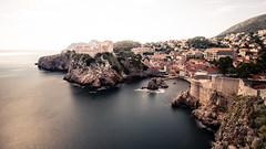 Dubrovnik (hermez) Tags: ocean longexposure light sea panorama europe mediterranean cityscape croatia walls fortress dubrovnik adriatic worldheritage dalmatia nd400 lovrijenac canoneos5dmk2 canonef16354lisusm dalmatia2016