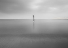 Alone (ereid88) Tags: uk reflection dorset engand swanage purbeck