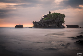 Tanah Lot Long Exposure
