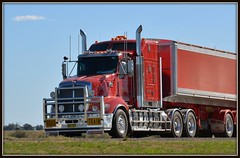T609 Road Train (quarterdeck888) Tags: flickr tipper transport trucks armitage roadtrain kenworth haulage quarterdeck bdouble t609 armytage worldtruck jerilderietrucks