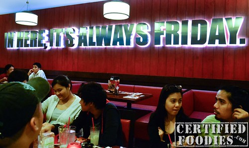 T.G.I. Friday's Wall - CertifiedFoodies.com