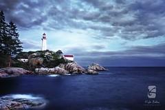 Lighthouse Park - West Vancouver (Kyle Bailey - Da Big Cheeze) Tags: sea sky clouds westvancouver lighthousepark canoneos40d canon40d