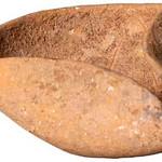 "<b>Oil Lamp</b><br/> Oil Lamp Ceramic, 1750-1550 BCE Origin: Kfar Melek LFAC# 617<a href=""http://farm8.static.flickr.com/7174/6419588439_2e8719cc17_o.jpg"" title=""High res"">∝</a>"