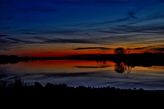 Last of the light............ (l_dewitt) Tags: statepark light sunset sky sun color water colors clouds river evening nikon connecticut newengland ct groton southeastern bluffpoint d5000 mygearandme mygearandmepremium mygearandmebronze