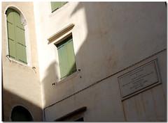 Plaque indiquant la maison de Marco Polo (gillyan9) Tags: venice venise venezia marcopolo