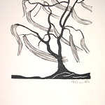 "<b>Tree in Wind</b><br/> Gerhard Marcks (1889-1981) ""Tree in Wind"" Woodcut, n.d. LFAC #2004:07:01<a href=""//farm8.static.flickr.com/7174/6438621935_213f5e6eb1_o.jpg"" title=""High res"">∝</a>"