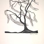 "<b>Tree in Wind</b><br/> Gerhard Marcks (1889-1981) ""Tree in Wind"" Woodcut, n.d. LFAC #2004:07:01<a href=""http://farm8.static.flickr.com/7174/6438621935_213f5e6eb1_o.jpg"" title=""High res"">∝</a>"