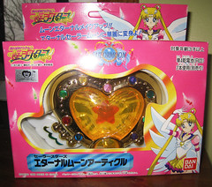 Sailor Moon Eternal Article (ochibawolf) Tags: vintage stars toy toys brooch collection rpg sailormoon collector compact eternal locket