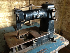 Sewing Machine (TimothyJ) Tags: atlanta mill ga georgia town sewing machine cotton cabbage lofts 4s iphone