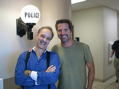 Paul Maccabee and Travel Channel TV host Don Wildman