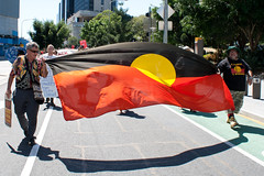 Aboriginal Deaths In Custody Rally (max_wedge) Tags: canon march rally protest custody brisbane aboriginal dslr indigenous deaths occupy 400d occupybrisbane