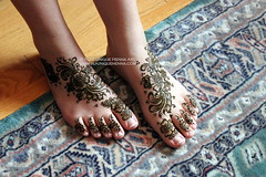 Natasha's bridal henna feet 2011 © NJ's Unique Henna Art (NJ's Unique Henna Art) Tags: toronto feet floral unique traditional scarborough bridal henna mehendi gta mehndi intricate mehandi