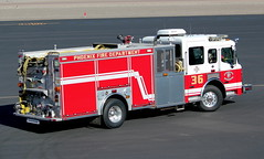 Phoenix Fire Department Engine 36 (ChrisK48) Tags: dvt phoenixaz kdvt engine36 phoenixfiredepartment phoenixdeervalleyairport