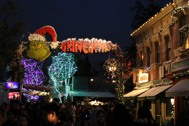 Grinchmas at night