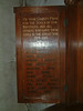 St Georges Tombland Roll of Honour - Left Panel