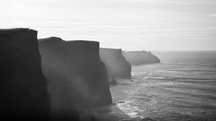 standing on giants 2 (TIM) Tags: ocean ireland sun sunlight pentax cliffs atlantic cliffsofmoher moher k200d