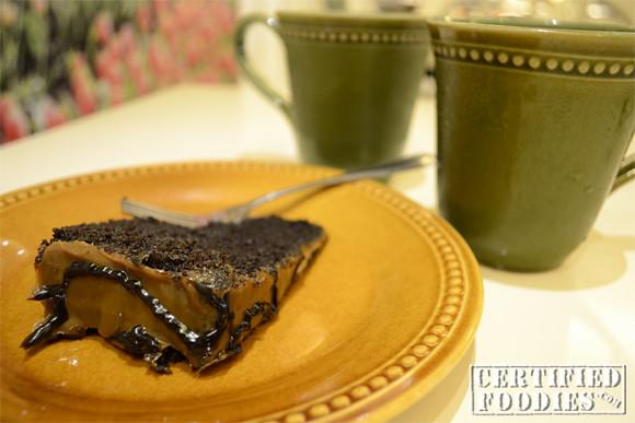 Chocolate Caramel Cake from Cravings
