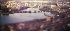[331] Somewhere out there. (Linh H. Nguyen) Tags: city bridge boston bokeh tilt viewfromabove skywalk architectures topofthehub freelensing penf3818 nex5n