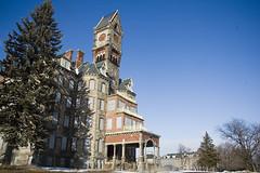 Worcester State Hospital 2008. (porc3laind0ll) Tags: abandoned insane massachusetts vacant asylum decayed ue mental urbex statehospital worcesterstatehospital kirkbride