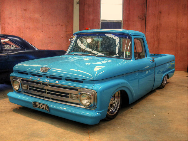 cars pickup classics autos hdr hotrods customs 1965 bendigo kustoms 1965fordf100pickup bendigorodstockandcustomshow