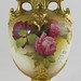 320. Hand Painted Royal Worcester Vase