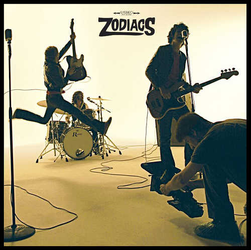 los zodiacs - edward olive - portada de disco album cd cover