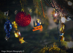 Mg egy kis karcsonyi hangulat... / Just a little Christmas spirit ... (v.maxi) Tags: christmas light cute d50 nikon bokeh karcsony weichnacht aranyos feny