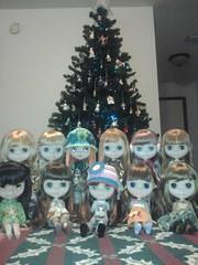 My Blythe girls/ ADAD 2011