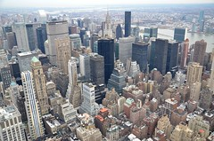 New York City View from the Empire State Building (cl.lin) Tags: street newyorkcity nikon manhattan chrysler urbanlandscape