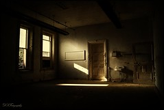 Light Among The Darkness (dsfdawg) Tags: door old urban abandoned window hospital rust peeling paint sink decay exploring asylum mental urbex kirkbride dsfotography dsfdawg