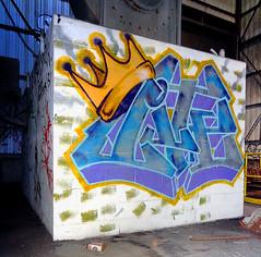 lite (thesaltr) Tags: sf sanfrancisco streetart art abandoned lite graffiti bayarea ateam b006 thesaltr