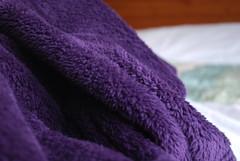 Purple Dressing Gown (Marybootrixie) Tags: warm purple fluffy dressing gown fleece thick 365daysincolour