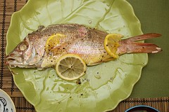 Baked Red Snapper for okuizome (Prince David of the South) Tags: fish